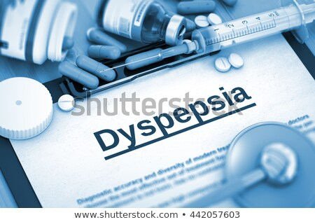 diagnosis   gerd medicine concept 3d illustration stock photo © tashatuvango