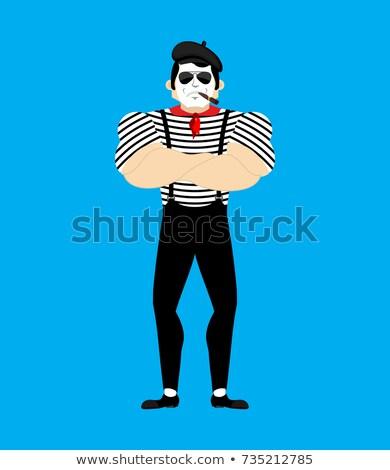ボディービルダー · アイコン · ジム · シンボル · デザイン · 男 - ストックフォト © popaukropa