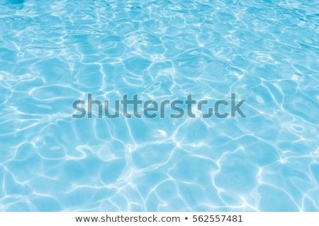 Soyut yüzme havuzu su mavi su yüzeyi doku Stok fotoğraf © stevanovicigor