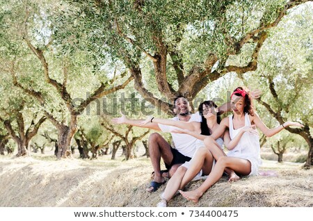 Portrait of man in olive grove Stock photo © IS2