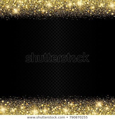 bright christmas lights illustration on a dark transparent background eps 10 vector design stock photo © articular