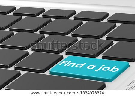 búsqueda · de · empleo · clave · línea · signo · símbolo - foto stock © tashatuvango