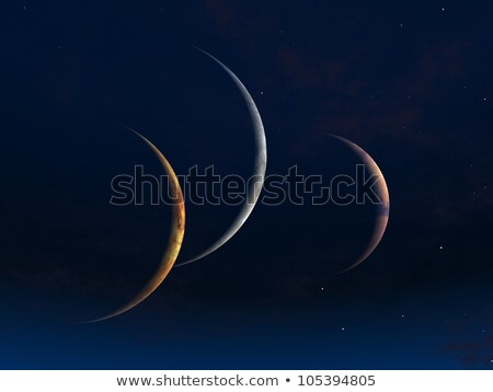 a strange planet in deep space Stock photo © magann