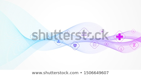 Medical banner. Health care. Vector medicine illustration. Stock photo © Leo_Edition