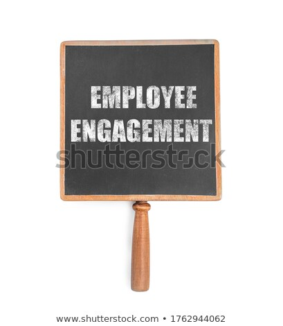 Engagement Concept on Small Chalkboard. Stock photo © tashatuvango