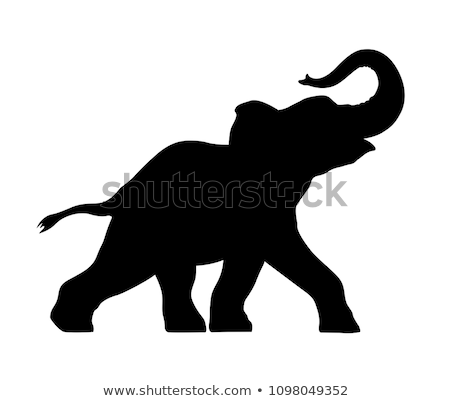 Elephant stamp stock photo © Stocksnapper