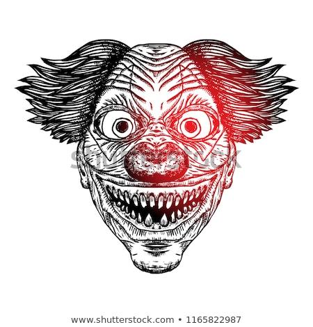 satan head with scary face stock photo © derocz
