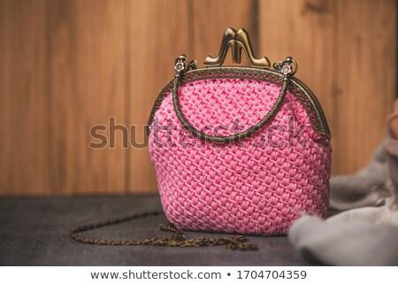 purse manufacturing close up photo stock photo © traimak