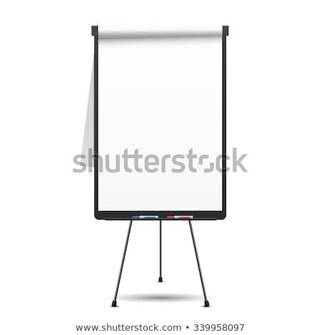 Blank flipchart Stock photo © IS2