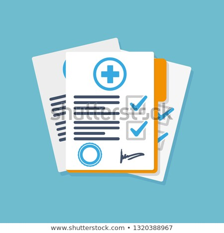 Lekarza pacjenta sprawozdanie szpitala kobieta człowiek Zdjęcia stock © wavebreak_media