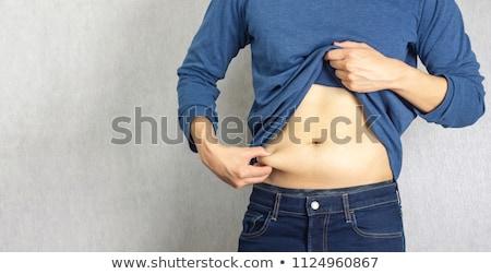 man lose weight big pants stock photo © lenm