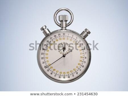 Top view of vintage stopwatch Vintage stopwatch Stock photo © MikhailMishchenko