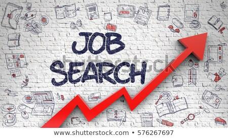 Find Job Drawn on White Brickwall.  Stock photo © tashatuvango