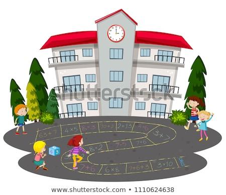 kinderen · verschillend · oefenen · muziek · kinderen - stockfoto © bluering