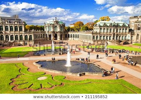 Stock photo: Dresden Zwinger in Saxony Germany