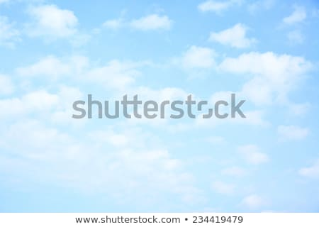 small white clouds on sky background Stock photo © serg64