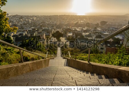 The 16th Avenue Tiled Steps Project. Stock photo © yhelfman