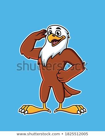 Amerika · sas · zászló · szeretet · szív · amerikai - stock fotó © lenm