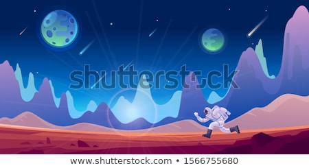Futuristic Spaceman -  Advance Technology Stock photo © solarseven