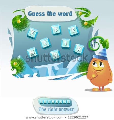 guess the word Reindeer Stock photo © Olena