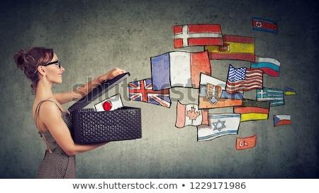 женщину различный открытие окна международных Сток-фото © ichiosea