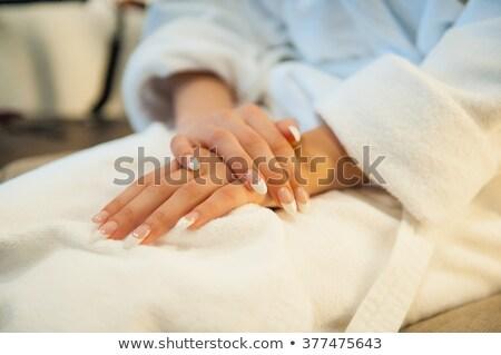 白 · ドレッシング · 手 · 女性 · 健康 · 薬 - ストックフォト © ruslanshramko