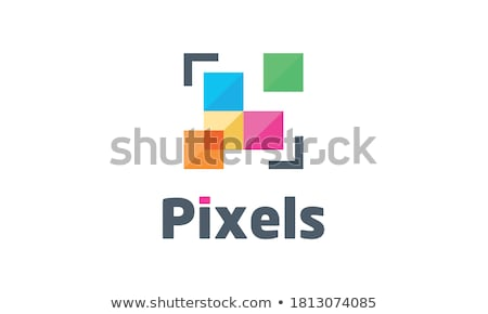 vector logo abstract square business element symbol icon stock photo © blaskorizov