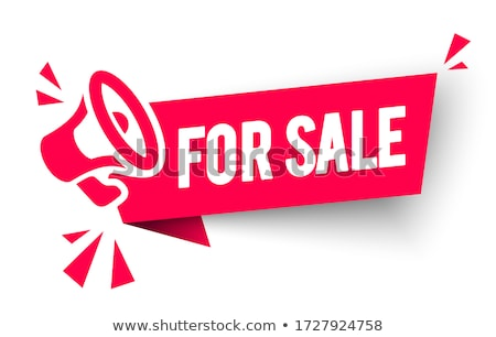 Mega Discount Special Promo Vector Illustration Stock photo © robuart