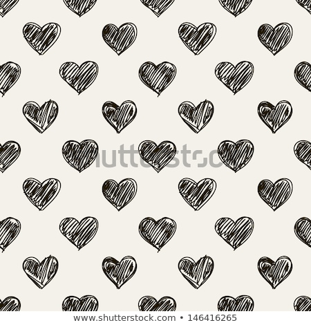 estilizado · corações · bebê · amor · coração - foto stock © lemony