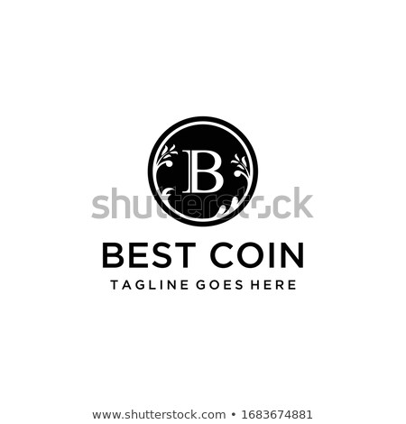 Sikke pazar logo para piyasası amblem ticaret Stok fotoğraf © tashatuvango