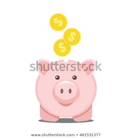 Inflacja banki symboliczny waluta 3d ilustracji Zdjęcia stock © limbi007