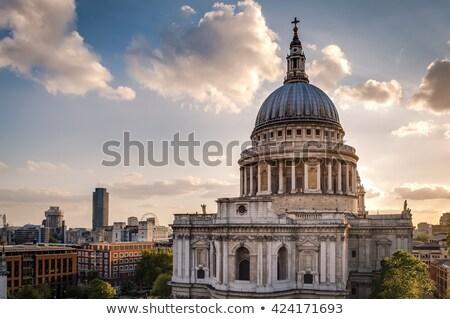 catedral · Londres · icónico · ciudad · viaje · religiosas - foto stock © vichie81