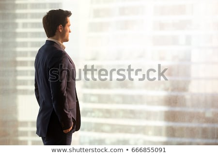 Businessman looking for new idea Stock photo © ra2studio