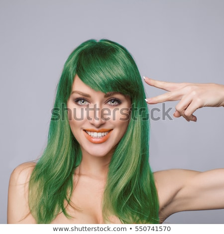 peluquero · pelo · mujer · tienda · competente - foto stock © kzenon