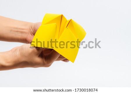 Papier toekomst keuze keuzes ambachten Stockfoto © devon