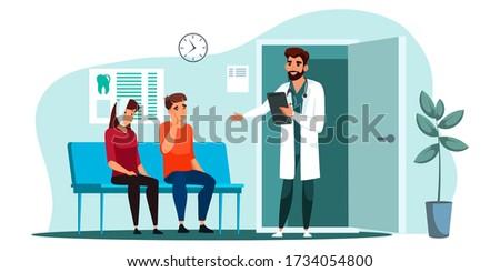 férfi · szenvedés · fogászati · szék · fiatal · beteg - stock fotó © rastudio