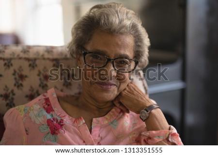 улыбаясь женщины пациент очки офтальмология Сток-фото © wavebreak_media