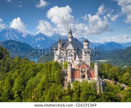 Bavarian Alps, Germany Stock photo © borisb17