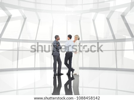 Groep zakenlieden overgang digitale composiet man stad Stockfoto © wavebreak_media