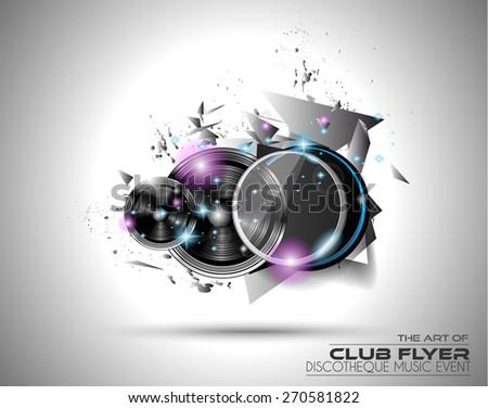 The Art of Disco Flyer  Stock photo © DavidArts