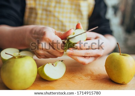 Preserving apples Stock photo © MKucova