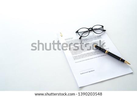 cpntract message stock photo © fuzzbones0