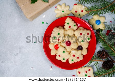 Vanilla Spritz cookies Stock photo © Digifoodstock