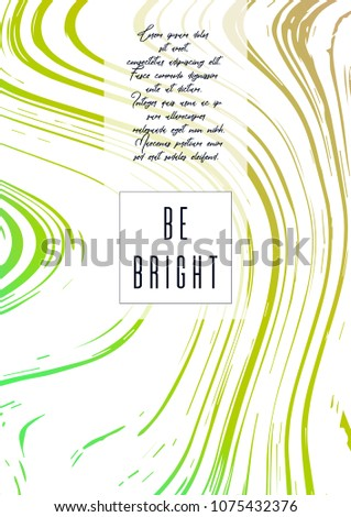 Vert géométrique annuel rapport modèle affaires Photo stock © SArts