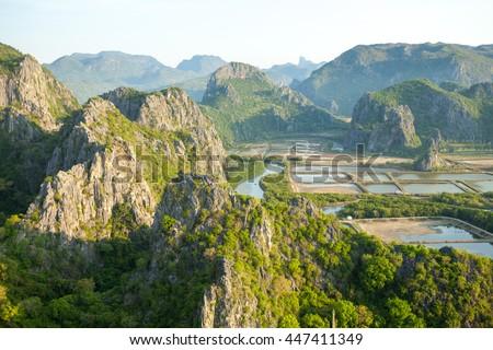 Khao Sam Roi Yot National Park Stock photo © bloodua