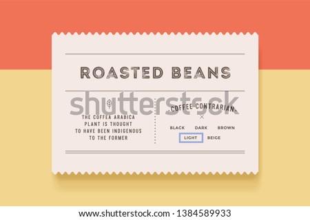 Minimalny etykiety nowoczesne vintage tag Zdjęcia stock © FoxysGraphic