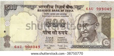Printing Indian Rupee Notes Stock photo © albund