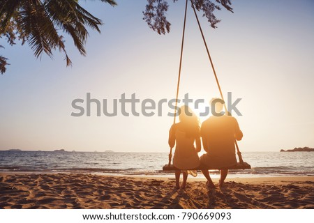 romantic couple by the sea stock photo © photography33