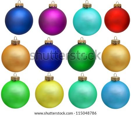 クリスマス · 飾り · バイオレット · 白 · 装飾 · 安物の宝石 - ストックフォト © Tomjac1980