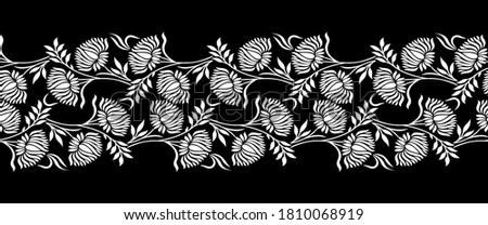 floral decorative frame stock photo © oblachko
